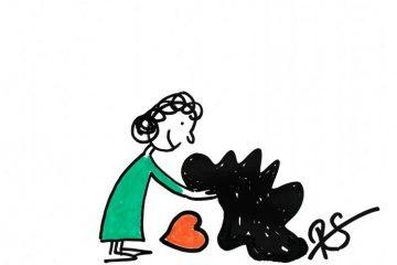 Zeichnung von Regina Schrott - Narz mich nicht